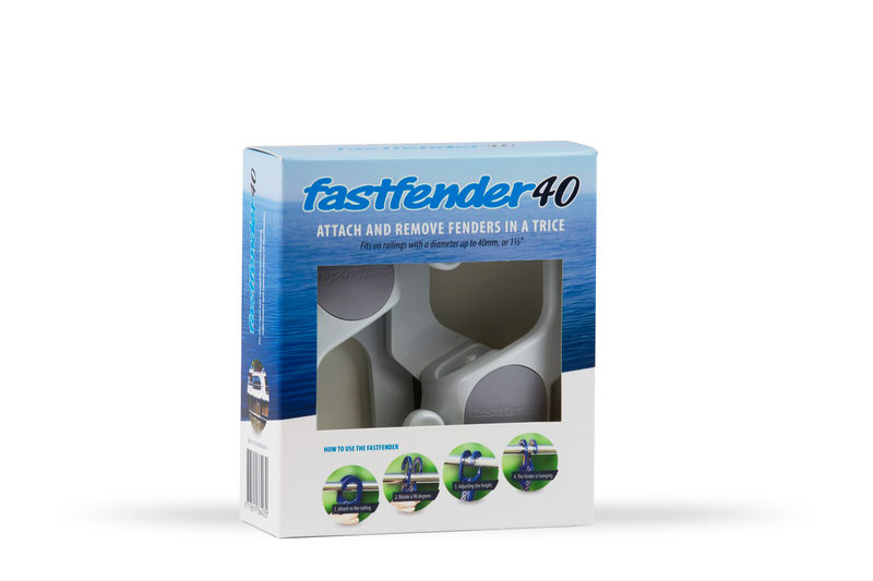 Fastfender 40 White - packing unit for boat fender hangers